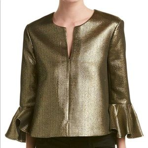 BCBGMAXAZRIA Women's Valari Gold Top
